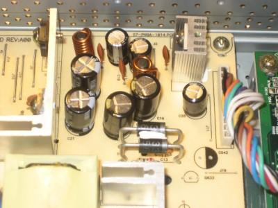 LCD Capacitors