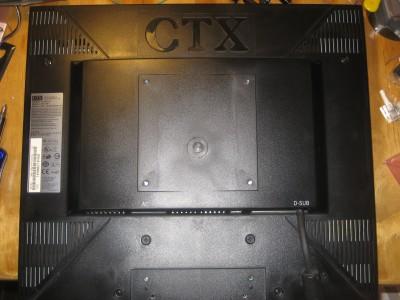 LCD Monitor Back