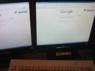 Working LCD Monitor