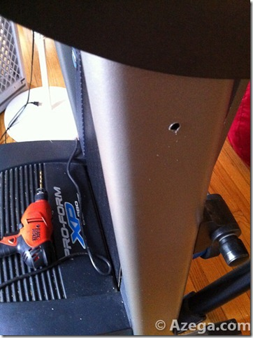 Child Proof Treadmill Drill Holes