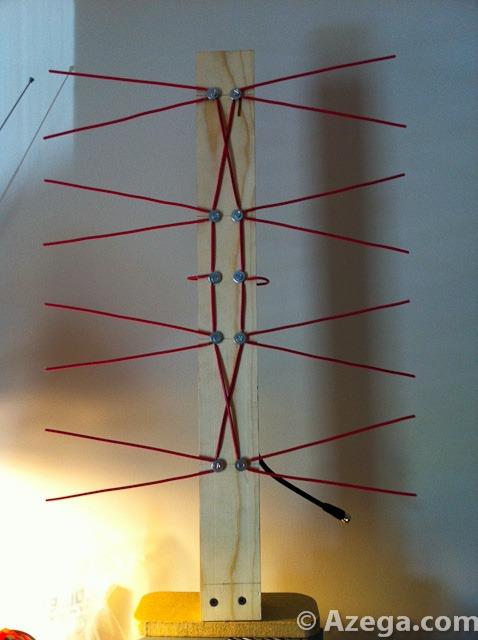 DIY HDTV TV Antenna (Bowtie) | Azega