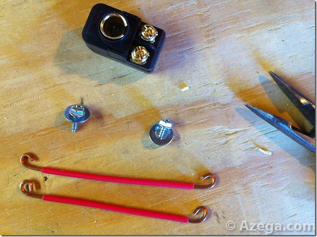 DIY HDTV Antenna Balun Connectors