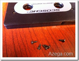 Cassette Tape Adaptor Screws