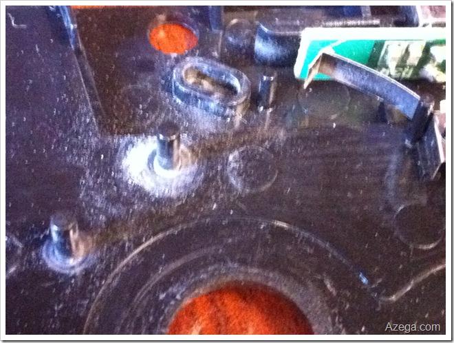 plastic gear dust