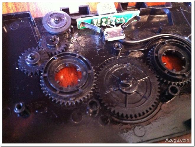 Oiled Cassette Tape Adaptor gears