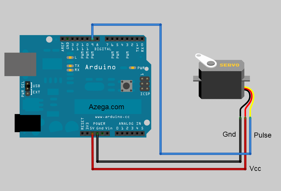 Arduino Servo Motor (Part 1) | Azega on